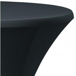 Statafelhoes stretch voor statafel 80 tot 85 cm antraciet